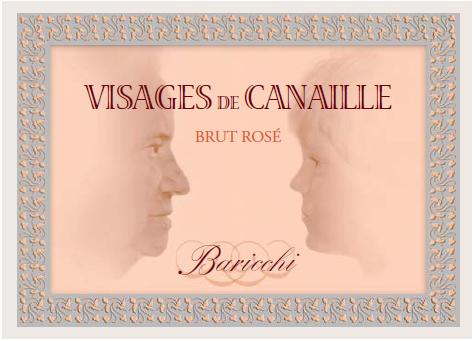 VISAGES DE CANAILLES – BRUT ROSÈ METODO CLASSICO