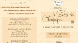 La Soirée des Champagnes – Venerdì 20 novembre