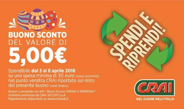 "Operazione ""Spendi e Riprendi"" Pasqua 2018"