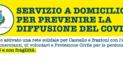 Aggiornamento: Servizio a domicilio per prevenire la diffusione del CoVid-19